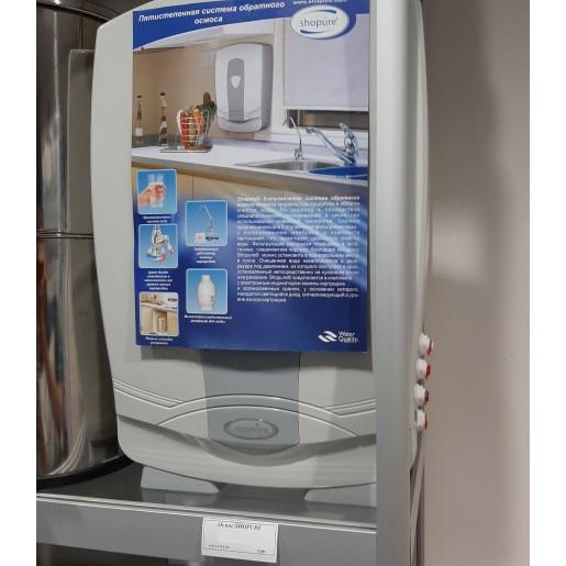 Обратный осмос Aquafilter Spure (Shopure), 5 ступеней очистки и фильтрации, фильтр для воды под мойку, с отдельным краном