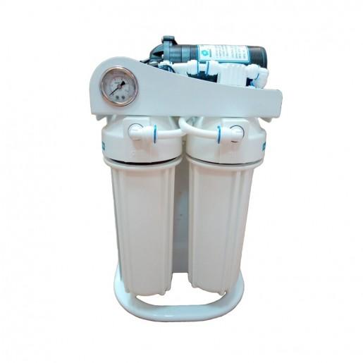 Фильтр для воды Kaplya (Капля) RO 300 P, Магистральный обратный осмос, два картриджа, мембрана, постфильтр, насос