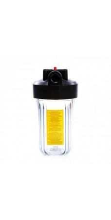 Корпус фильтра для воды Kaplya (Капля) FH10BC1-OR2, Магистральный, Big Blue 10-ти дюймовый, резьба 1 дюйм
