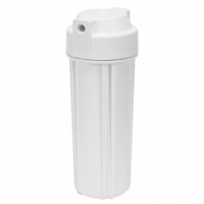 Корпус фильтра для воды Kaplya (Капля) WW 14-01, Системный, 10-ти дюймовый, до 45° С, до 6 атм., одно уплотнительное кольцо