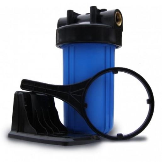 """Фильтр для воды Aquilegia BH 1045 10BB 1"""", Магистральный корпус, колба 10 дюймов типа Big Blue, резьба 1 дюйм"""
