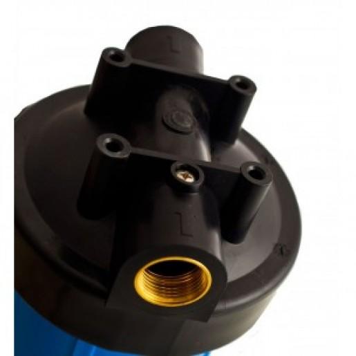 """Фильтр для воды Aquilegia BH 2045 20BB 1"""", Магистральный корпус, колба 20 дюймов типа Big Blue, резьба 1 дюйм"""