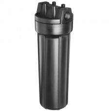 Фильтр для горячей воды Pentek (Pentair) Slim Black 1/2 #10, магистральный корпус, slim колба 10 дюймов, резьба 1/2 дюйма