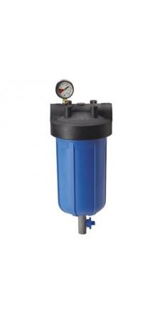 """Фильтр для воды Pentek (Pentair) PHB-410 1,5"""" Blue 10BB, магистральный корпус, колба 10 дюймов типа Big Blue, резьба 1,5 дюйма"""