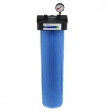 """Фильтр для воды Pentek (Pentair) PHB-420 1,5"""" Blue 20BB, магистральный корпус, колба 20 дюймов типа Big Blue, резьба 1,5 дюйма"""