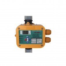 Реле давления Optima PC 58 P, с защитой от сухого хода для автоматических станций водоснабжения, автоматический перезапуск, манометр
