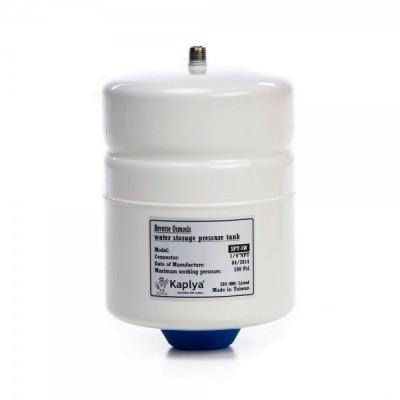 Бак Kaplya SPT 5 W, Резервуар металлический накопительный для обратного осмоса, фильтра с основанием, 2 литра, белый