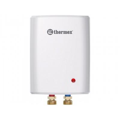 Водонагреватель проточный электрический Thermex Surf Plus 6000, 220 В, 6 кВт, 3,4 л/мин, до 60 градусов, системный проточник