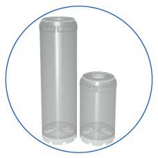 Корпус картриджа фильтра для воды Aquafilter FCEB 10, 10-ти дюймовый предназначен для наполнения любым фильтрующим материалом