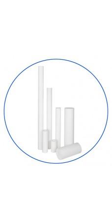 Картридж фильтра для воды Aquafilter FCPS 1, 10-ти дюймовый, 1 мкм, полипропиленовое волокно