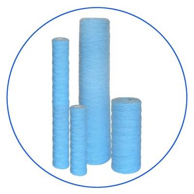 Картридж фильтра для воды Aquafilter FCPP 20 AB, 10-ти дюймовый, 20 мкм, полипропиленовый шнур, BACINIX