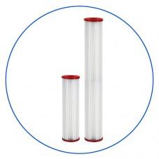 Картридж фильтра для горячей воды Aquafilter FCHOT 3 L, 20-ти дюймовый, 5 мкм, гофрированный полиэстер