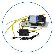 Насос Aquafilter AFXPOMP 1, Помповый набор  в корпусе с блоком питания, входным и выходным датчиками для обратного осмоса