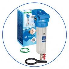 Фильтр для воды Aquafilter FHPR 1-3V, Магистральный промывной корпус, колба 10 дюймов, резьба 1 дюйм,