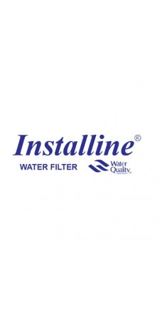 """Фильтр воды для котлов с фильерой Installine IF 5 1/2"""", Магистральный корпус колба резьба 1/2 дюйма"""