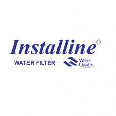 Фильтр для воды Installine IF 10 F, Под мойку, #10, однокорпусной, с картриджем, белый, до 37° С, до 4 атм., с отдельным краном
