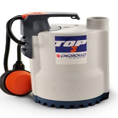 Насос Pedrollo Top-3 погружной дренажный для сточных вод с поплавковым выключателем