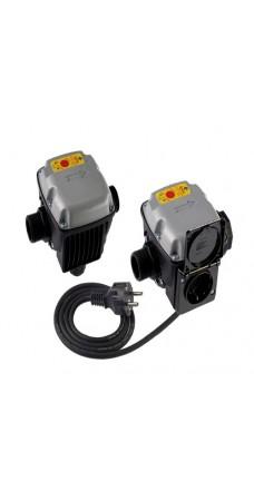 Реле протока Italtecnica SPIN MMO 5, с защитой от сухого хода для автоматических станций водоснабжения, автоматический перезапуск 4 раза через каждый час, с проводом и розеткой