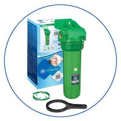 Корпус фильтра для воды Aquafilter FHPR 34-3 AB, Магистральный, 10-ти дюймовый, резьба 3/4 дюйма