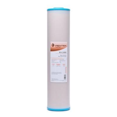 Картридж фильтра для воды Pentek WS 20BB, 20-ти дюймовый 20 Big Blue, ионнообменная смола