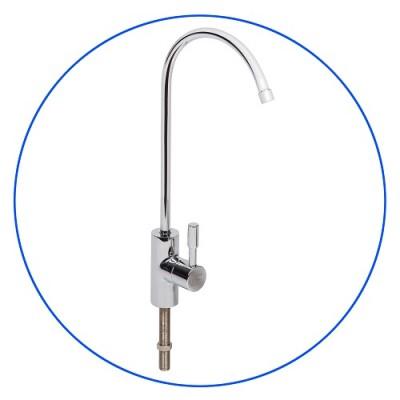 Кран Aquafilter FXFCH 17, гусак латунный хромированный с керамическим клапаном