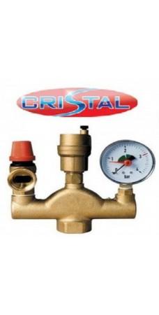 Группа безопасности котла Cristal HT-253, Подсоединение 1″ дюйм