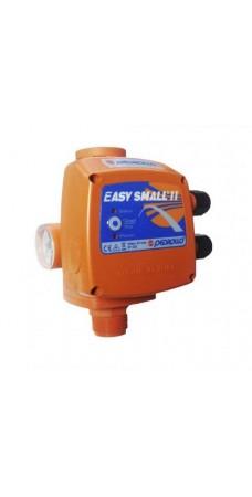 Реле давления Pedrollo EASYSMALL II G, Электронный регулятор для однофазных насосов, защита от сухого хода, до 1,5 кВт, с манометром