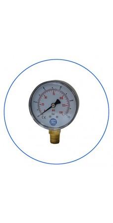 Манометр Aquafilter KCGA 1, Контроллер давления, до 10 бар, 1/4″ радиальное соединение
