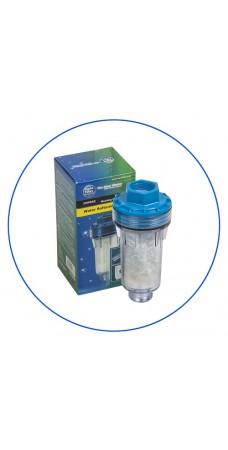 Фильтр для умягчения воды Aquafilter FHPRA 2, Магистральный с метагексофосфатами, резьба 3/4 дюйма