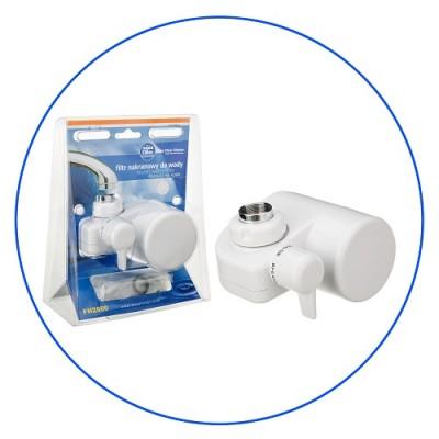 Фильтр для воды на кран, Aquafilter FH 2000, удаляет запахи, хлор, хлороформ, пестициды, промышленные загрязнения, белый, до 45° С