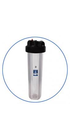 Фильтр для воды Aquafilter FHBC 20 B1, Магистральный корпус типа Big Blue, колба 20BB, резьба 1 дюйм