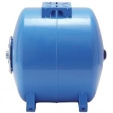 Гидроаккумулятор Aquapress AFC 50 C, для автоматических станций водоснабжения, 50 литров, горизонтальный, мембранный бак