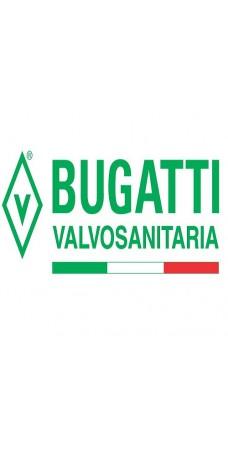 Кран шаровой Valvosanitaria Bugatti B 607 R 3/4 HB PBk, 3/4″, резьба наружная, внутренняя, ручка бабочка красная