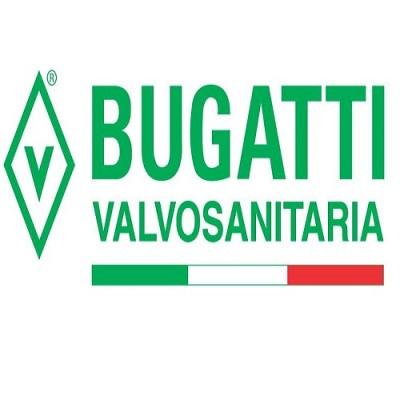 Кран шаровой с накидной гайкой Valvosanitaria Bugatti B 322 1/2 HB РБк, 1/2″, резьба наружная, внутренняя, ручка бабочка красная