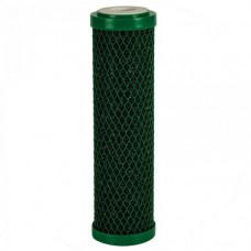Картридж фильтра для воды Aquafilter FCCBL G AB, 10-ти дюймовый, антибактериальный спечённый актив. уголь