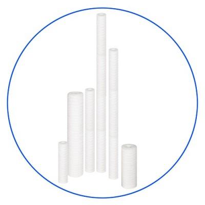 Картридж фильтра для воды Aquafilter FCPP 5, 10-ти дюймовый, 5 мкм, полипропиленовый шнур