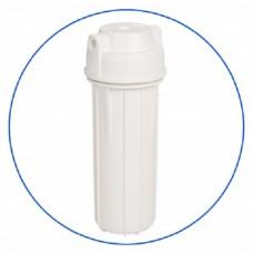 Корпус фильтра для воды Aquafilter EG 14 WWAQ-4, системный, 10-ти дюймовый,  резьба 1/4 дюйма