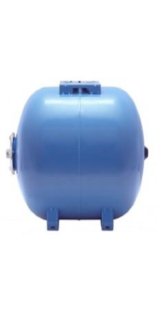 Гидроаккумулятор Aquapress AFC 80 С, для автоматических станций водоснабжения, 80 литров, горизонтальный, мембранный бак