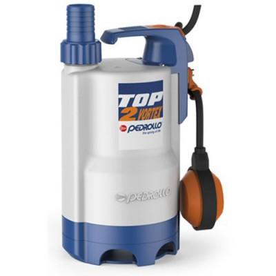 Насос Pedrollo Top-2 – Vortex погружной дренажный для сточных вод с поплавковым выключателем