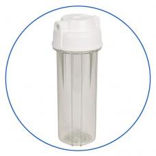 Корпус фильтра для воды Aquafilter EG 14 CWAQ-4, системный, 10-ти дюймовый,  резьба 1/4 дюйма