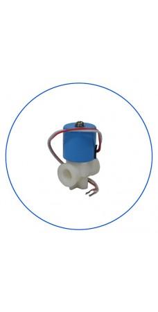 Клапан Aquafilter SV 1000 электро магнитный нормально закрытый соленоидальный, для систем обратного осмоса, фильтра, 24 В, 230 мА