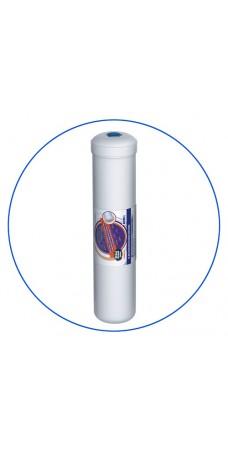 Постфильтр Aquafilter AICRO L4 для обратного осмоса, картридж фильтра для воды, гранул. актив. уголь и засыпка KDF