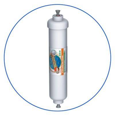 Постфильтр Aquafilter AICRO QC для обратного осмоса, Картридж фильтра для воды, гранулированный активированный уголь