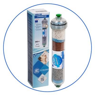 Постфильтр Aquafilter AIFIR 200 для обратного осмоса, ионизация, минерализация воды, Картридж фильтра для воды