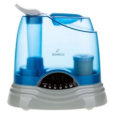 """Увлажнитель воздуха Boneco 7135, До 60 м², 45 Вт, ультразвуковой, холодный+теплый пар, гигростат, обеззараживание воды, """"золотая"""" мембрана"""", таймер, дисплей"""