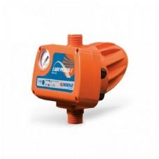 Реле давления Pedrollo EASYPRESS II G, электронный регулятор давления для однофазных насосов, защита от сухого хода, до 1,5 кВт, манометр, гидроаккумулятор