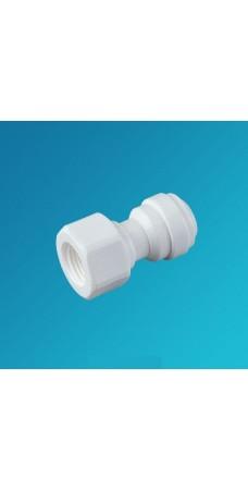 Фитинг прямой Organic FA 0607, Коннектор 3/8 цанга – 1/2 внутренняя резьба