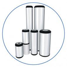 Картридж фильтра для воды Aquafilter FCCA STO, 10-ти дюймовый, полипропилен и битумный активированный уголь