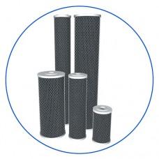 Картридж фильтра для воды Aquafilter FCCBL 10BB, 10-ти дюймовый 10 Big blue, брикетированный активированный уголь