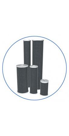 Картридж фильтра для воды Aquafilter FCCBL, 10-ти дюймовый, спечённый активированный уголь